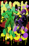Kick-Ass and Hit Girl from Kick-Ass by LCBrown-Ojeda