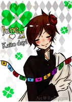 : Happy B-Day Kaito : by RedRegret