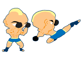 Mma Poses by greenate