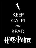 Keep Calm Harry Potter by AmateurVirtuoso