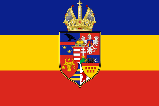 Carpathian Empire flag, further improvements by groenbjerg