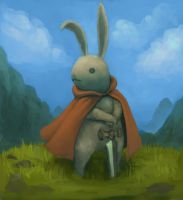110918 rabbit knight by pc-0