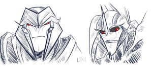 TFP: Megs and Star by Succubii