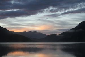 Fiordland Sunrise by coroblue