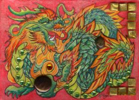 ACEO Dragon 13 by rachaelm5