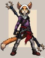Eliza Mousekewitz  - Sketch 61 by TheLivingShadow