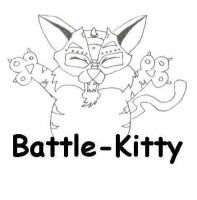 Battle-Kitty by MightyRain