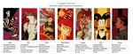 Character Tropes Meme by NightmareHound
