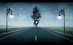 Road to Yggdrasil by Azenor