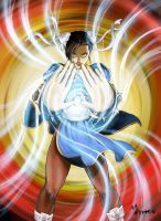 CHUN LI_Street Fighter Colored by mansarali