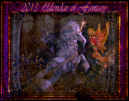 Fantasy Calendar-Front Cover by digitalwizard