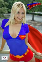 Supergirl - Oldschool  3 of 3 by TheSnowman10
