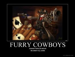 Furry Cowboys by Shadiero
