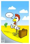 hitchChicken by ArtBIT