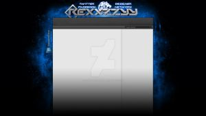 REXXZZYY youtube layout. by Runningboxdesign