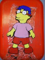 Milhouse -Made out of clay- by Milelope