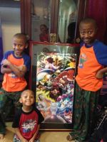 My Nephews get their Pokemon Poster(Christmas Day) by DMGoodrum