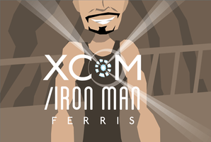 XCOM/Iron Man: Ferris by Jon-Wood