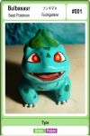 Pokemon Bulbasaur sculpture by AntonioBalicevic