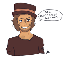 More Hobo by todd-divinus
