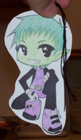 Beast Boy Bookmark by mislabeledmayhem