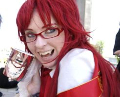 Grell's Mug of Win by MonsterTeacup