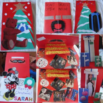 Holiday Cards by puzzlesandpizza