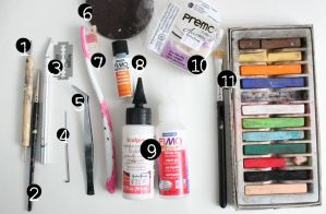 Polymer Clay - Recommended Tools by ChroniclesOfKate