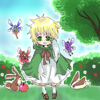 England And His Fairy by Mi-chan4649