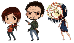 The Last of Us - Chibis by XibXib