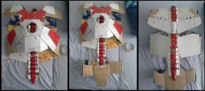 Iron man Mark 5 Suitcase Transformation Progress 2 by UnknownEmerald