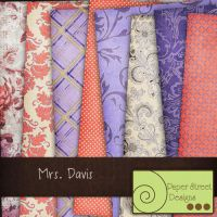 mrs davis--paper street designs by paperstreetdesigns