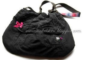 refashion bag - back view by tinkelstein