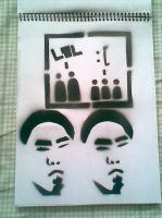 assorted stencils 1 by graybox