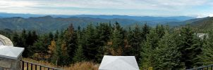 Mt. Mitchell Summit Panorama 5 by rdswords