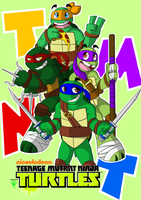 Heros In A Half Shell by FrankenPup