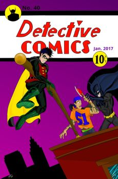 Detective Comics #40 by TommyEddy83