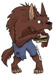 Werewolf Sticker by ALRadeck