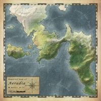 Regional map of Aeradia by anonymous-Dragon