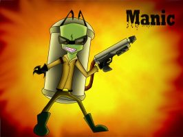Manic the Pyro by dragonfire1000