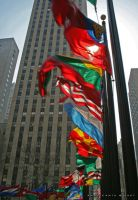 Rockefeller Flags by blueink-ac