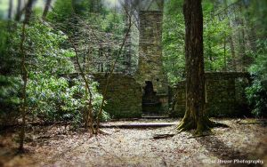 Stone Cottage Ruins at Linn Run State Park by GlassHouse-1