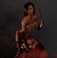 Rashi The Assassin by tharynien