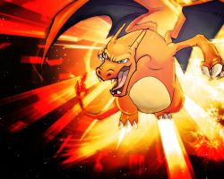 Charizard Wallpaper by Luduie