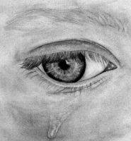 Crying Eye by Mulvin
