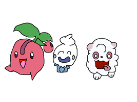 Cherries, Ice Cream, And Cotton Candy by mrmenworld2010