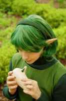 Zelda OOT: Saria 2 by SFLiminality