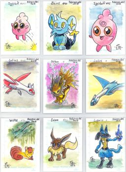 Pokemon sketch card batch 2 - Egli by SurfTiki