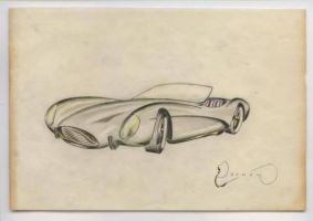 vintage concept rendering mid 50's by cadillacstyle