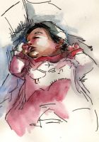 Baby sketch... by Pendalune